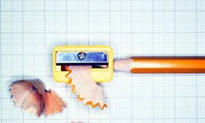 A pencil sharpener.