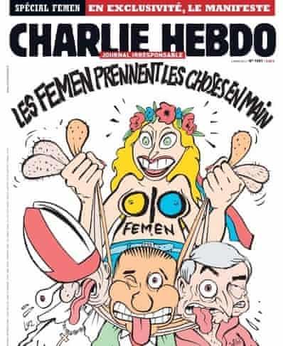 Charlie hebdo femen