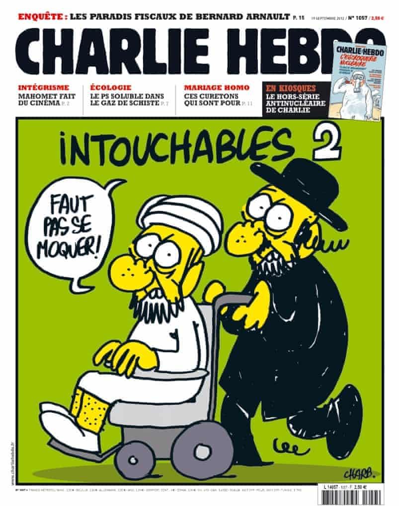 French satirical magazine Charlie Hebdo
