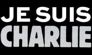 Charlie Hebdo homepage