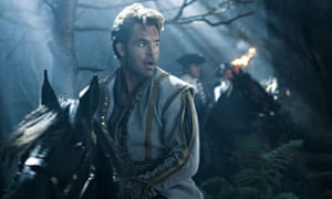 Chris Pine as the arrogant Prince in Into the Woods