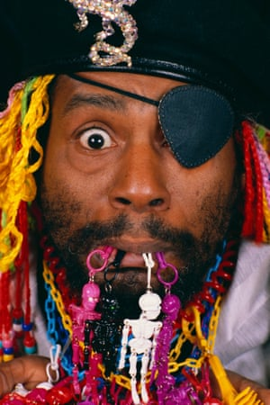 George Clinton poses for a portrait in 1986.