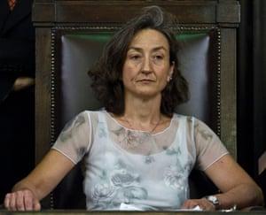 Chief investigator Letizia Ruggeri