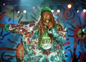 George Clinton and Parliament-Funkadelic perform at Woodstock '99