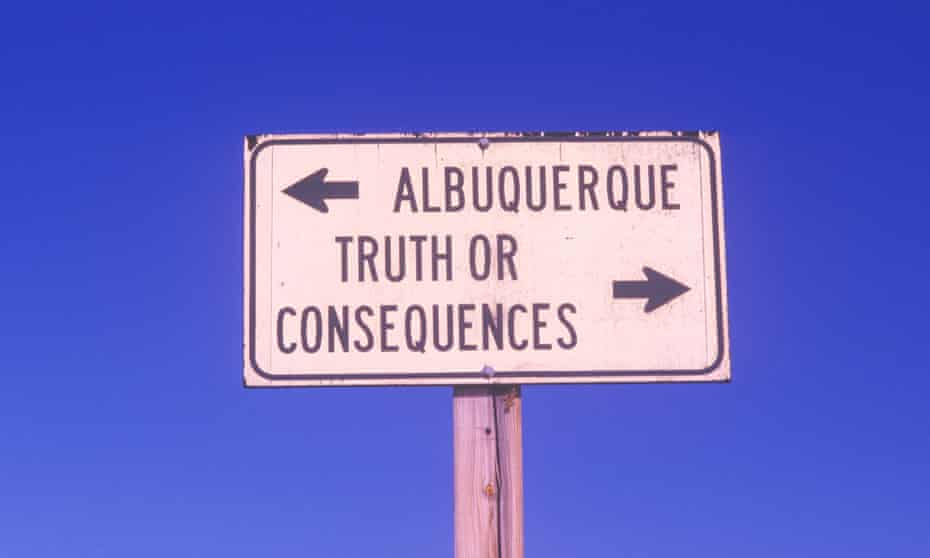 Truth or Consequences, New Mexico.