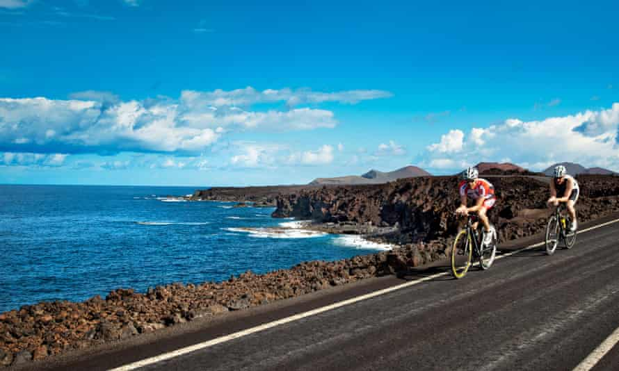 Cliff coast, Los Hervideros, Lanzarote.