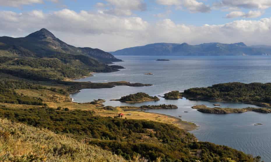 Wulaia Bay on Navarino island in Tierra del Fuego.