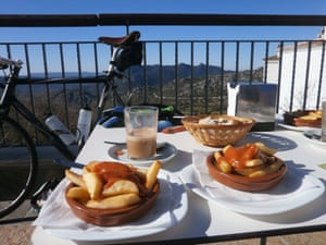 Winter cycling in Andalucia