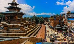 Patan Durbar Square.