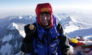 Kenton Cool has summited Everest 11 times