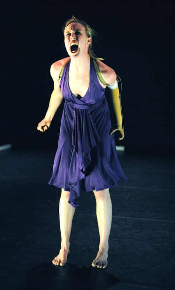 Candoco in performance.