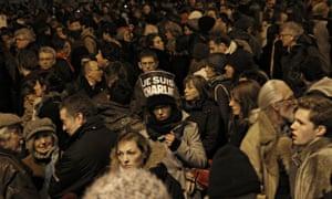 Paris Charlie Hebdo protest