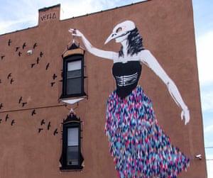 Vexta's artwork in Jersey City, US.