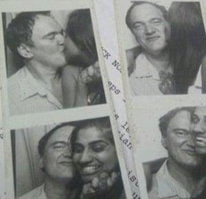 Beejoli Shah and Quentin Tarantino on a date night.