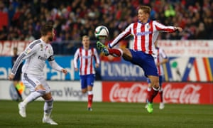 Atlético Madrid's Fernando Torres does his best and that's all we can ask for.
