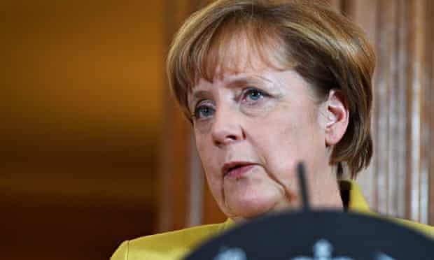 German chancellor Angela Merkel visits UK