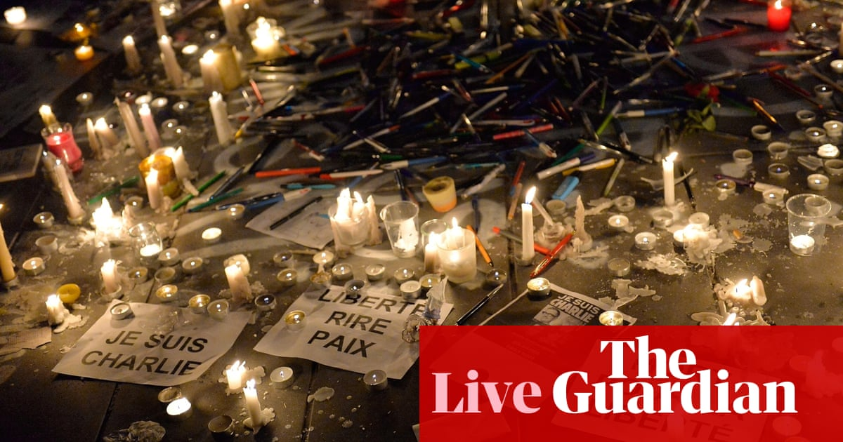 Charlie Hebdo Shooting Police Release Names And Photos Of Two Brothers Wanted For The Attack As It Happened World News The Guardian