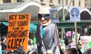 Tony Abbott heading for a climate change cliff - PeoplesClimate-Melb-IMG_8215