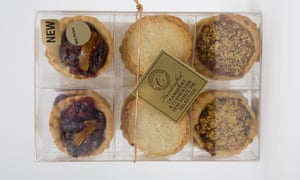 Marks & Spencer handcrafted mince pies. Christmas week recorded a 17% rise in sales but overall sales were down across M&S in the Christmas quarter