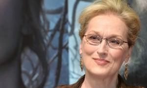 Meryl Streep at a gala screening of Into The Woods, London, 7 January.