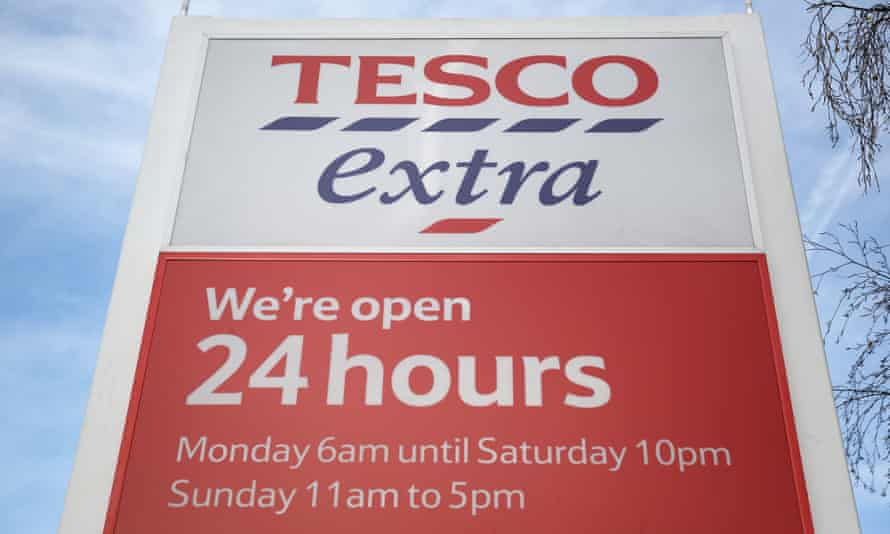 Tesco has announced it will close 43 of its least profitable stores in the UK.