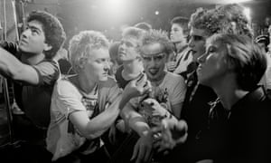 Punks at the Vortex club, London, late 1970s
