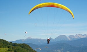 Taking up a hobby (such as paragliding) is a good way to meet people you wouldn't usually.