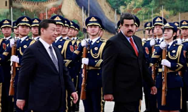 Xi Jinping and Nicolás Maduro