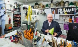 Milliner Stephen Jones: 'I like a jolly workroom.'
