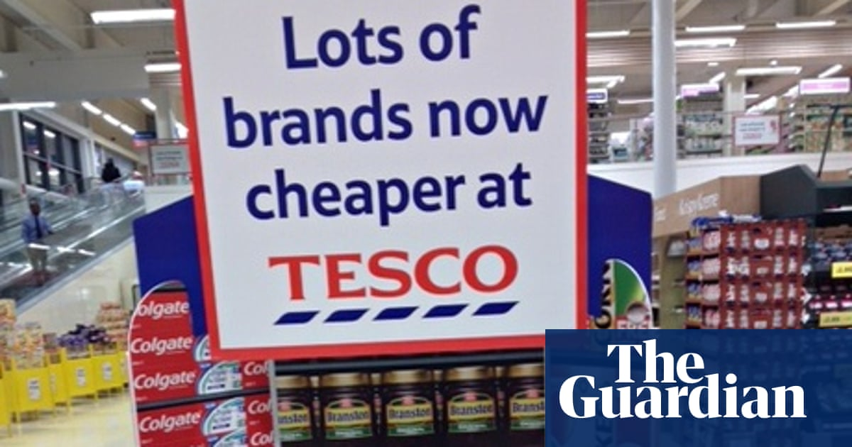 6d76b22f58a7 Underwhelmed in south London: Tesco shoppers react to latest price cuts