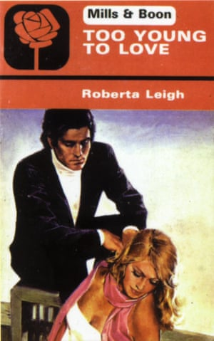 Roberta Leigh: Too Young for Love – cover of Mills & Boon paperback novel