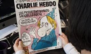 Charlie Hebdo Houellebecq cover 7 January 2015