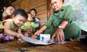 """""""Most families now have two or three children, instead of 10 and even more,"""" Kongphongma says"""