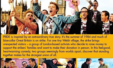 The DVD cover of Pride for the US market.