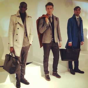 Hardy Amies' menswear at last year's LC:M