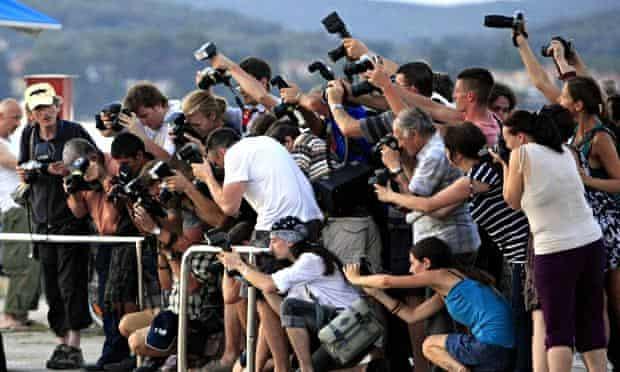 Paparazzi cameras