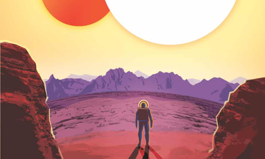With two suns, Kepler-16b is a real life version of Luke Skywalkers home planet Tatooine in the<em> Star Wars</em> films