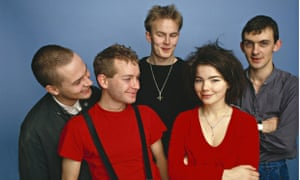 Bjork and the Suarcubes in 1986.