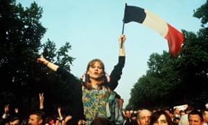 Student demo in Paris in 1968