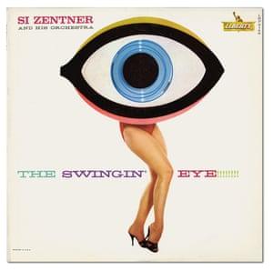 The Swingin' Eye!!!!!!!! album cover, 1960 by Bill Plate and Gene Howard.