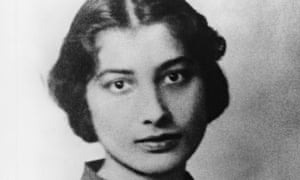 Connecting British Muslims to the second world war … Noor Inayat Khan. Photograph courtesy Of Noor I