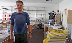 Stephane Charbonnier, editor of Charlie Hebdo, who was killed in Wednesday's attack