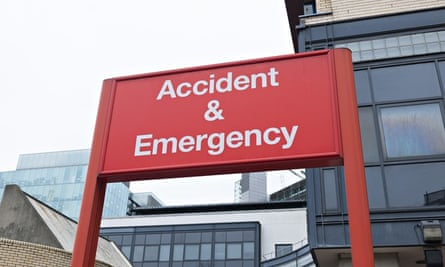 A&E waiting times in England hit worst level in 10 years