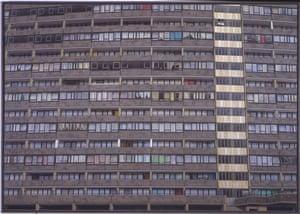 Albany Flats (1977-9), by David Hepher