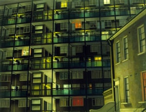 Camberwell Flats by Night (1983), by David Hepher