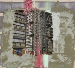 Study for the Wandsworth Road Estate II (2007), by David Hepher