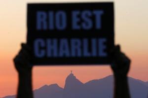 Charlie Hebdo tributes: Rio de Janeiro, Brazil