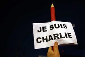 Charlie Hebdo tributes: Rotterdam, Netherlands