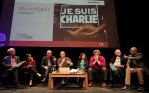 Charlie Hebdo tributes: London, UK