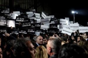 Charlie Hebdo tributes: Athens, Greece